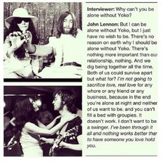 john and yoko relationship trust