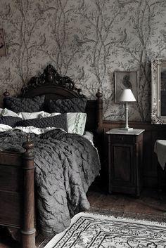 ♅ Dove Gray Home Decor ♅ grey bedroom