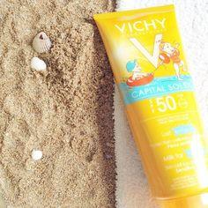 Le Lait Enfants PF 50+ Vichy Capital Soleil fournit une très haute protection aux peaux les plus exigeantes et sensibles.