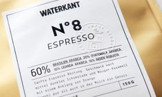 Waterkant – Kaffeegesellschaft | Branding