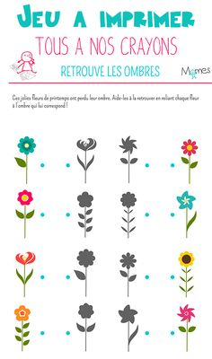 Maternelle Grande Section, Dots Game, Spring Activities, Worksheets For Kids, Clay Jewelry, Stage, Free Printables, Baby, Words