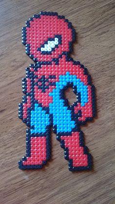 bead sprite représentant un petit Spiderman Plus