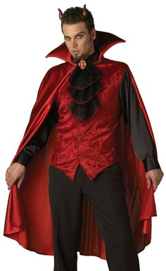 Devil costume for a male #yummy
