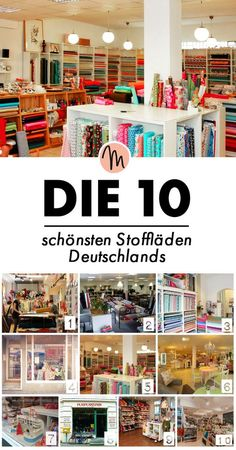 Die schönsten Stoffläden Deutschlands via Makerist.de