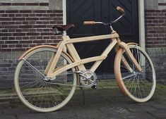 Ride In Style With This Wooden Retro Bike