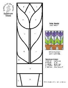 Free Spectrum Score Pattern - Tulip Tryptic