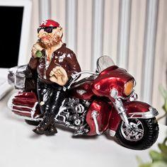Dekoratif Motosiklet ve Motorcu