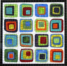 Mosaic Art by Liz Messer Mosaic Crafts, Mosaic Projects, Mosaic Art, Mosaic Glass, Mosaic Tiles, Glass Art, Tiling, Mosaic Designs, Mosaic Patterns