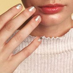 50 Negative Space Nail Ideas to Copy Right Now | StyleCaster