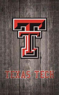 Texas Tech University Wall Art Distressed Gray Wood Plaque