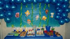 Bubble Guppies birthday theme