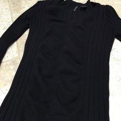 Black sweater Sweater Sweaters V-Necks