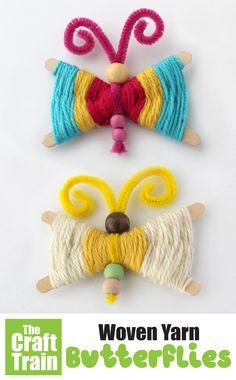 Older Kids Crafts, Hand Crafts For Kids, Crafts For Seniors, Senior Crafts, Craft Stick Crafts, Yarn Crafts, Craft Sticks, Craft Ideas, September Crafts