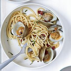 Spicy Pasta with Clams