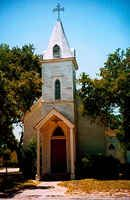 Church in Goliad Texas