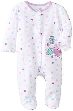 Best Beginnings Baby-Girls Newborn Owl Footie, Turquoise Print, 3 Months Best Beginnings http://www.amazon.com/dp/B00NMNSOPU/ref=cm_sw_r_pi_dp_edPDub177HRJF