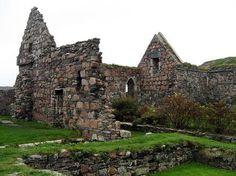 Nunnery ruins, Isle of Iona, Scotland