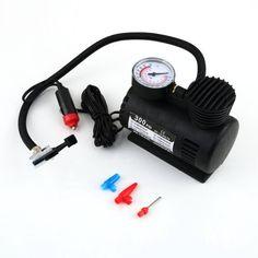 Portable 12V Auto Car Electric Air Compressor Tire Infaltor Pump 300 PSI FT1