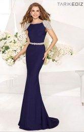 Длинное вечернее платье от Tarik Ediz