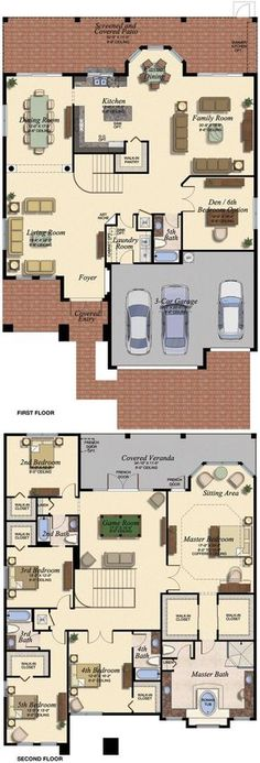 VENETIAN/678 Floor Plan (Large View)