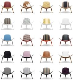 Hans J Wegner Shell Chair Replica Danish Modern Furniture, Mid Century Modern Furniture, My Home Design, House Design, Love Chair, Danish Design, Modern Contemporary, Modern Design, Scandinavian Design