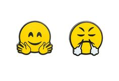 Smiley Faces Pin Pack 5