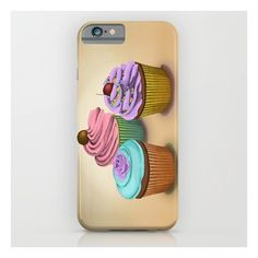 Cupcakes!  iPhone 6s Case ($35) ❤ liked on Polyvore featuring accessories, tech accessories and iphone & ipod cases