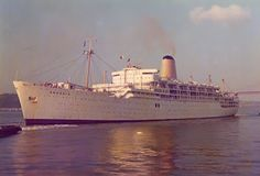 Arcadia (2) 1954-1979 Europe to Australia with P - a wonderful way to travel the world, before air travel became cheaper and more popular. Arcadia became a cruise ship based in Sydney during the last few years of its life.  http://lmcshipsandthesea.blogspot.com.au/2012/02/p-ss-arcadia-1954-1979.html