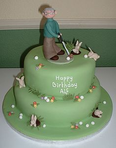 Cake Decorating Course Worcester : 1000+ images about Ben s 30th Birthday Golf Cake on ...