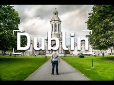 The Vaga Brothers discover Dublin! Click through for a video. Who knew wakeboarding was an option? Travel Vlog, Us Travel, Dublin Ireland, Ireland Travel, Grand Canyon, Trinity College Dublin, Guinness Storehouse, Florida, Wakeboarding