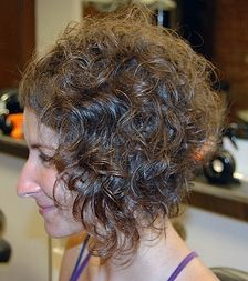 Natural Curly Short Hair Style Bob