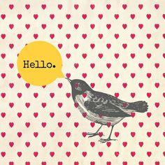 Hello Art Print by Sreetama Ray | Society6