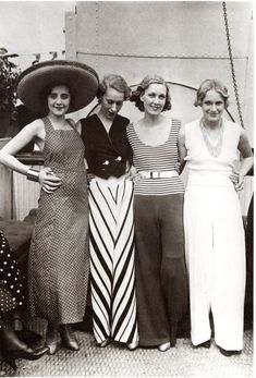 """Giant Pants of the '30s"" on Tumblr. 'Nuff said."