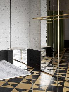 AMI PARIS - MAYFAIR, LONDON By STUDIO KO Photographie : Philippe FRAGNIERE