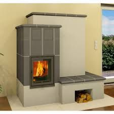 kachelofen - Google-Suche Stove Fireplace, Fireplace Design, Cute Apartment, Rocket Stoves, Modern Materials, Sweet Home, New Homes, Home Appliances, House Design