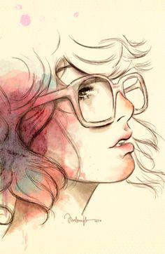 É a ilustração de alguém que pode viajar para outras vidas sem sair da própria mente