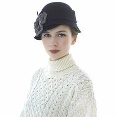 Carraig Donn Traditional Irish Merino Wool Aran White Polo Neck Sweater