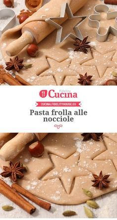 Italian Cookies, Italian Desserts, Italian Recipes, Christmas Sweets, Christmas Cooking, Pasta Frolla Recipe, Biscotti Cookies, Breakfast Biscuits, Yummy Cakes