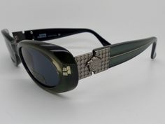 1043a45572211 Genuine Rare Vintage Gianni Versace Medusa Sunglasses Mod 248 M Col 347   NOS