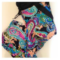 Paisley joggers New with tags. Cute joggers. Very soft fabric. Labeled L/XL Pants Track Pants & Joggers