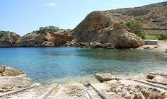 The coast of Sant Joan de Labritja