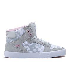 SUPRA WOMENS VAIDER   GREY/LILAC - WHITE   love these!!!