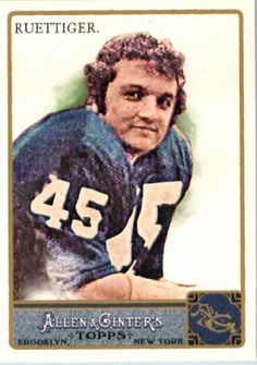 2011 Topps Allen and Ginter #238 Rudy Ruettiger - Notre Dame / Rudy Movie (Baseball Cards) by Topps Allen and Ginter. $1.88. 2011 Topps Allen and Ginter #238 Rudy Ruettiger - Notre Dame / Rudy Movie (Baseball Cards)
