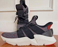 purchase cheap 77151 73874 Adidas Ultra Boost Black orange   White Running Men Sneakers Size 12 UK  11.5    eBay