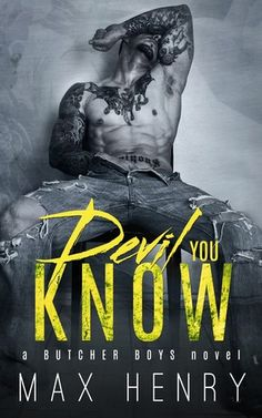 Bambi Unbridled: Man Candy Monday: Devil You Know by Max Henry