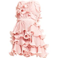 Satinee's collection - Erin Fetherston ❤ liked on Polyvore featuring dresses, vestidos, gowns, short dresses, pink mini dress, short pink dress, pink dress and erin fetherston