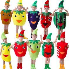 40c359512 Barato Umorden niños fiesta de Halloween Día de los niños de dibujos  animados vegetal de la