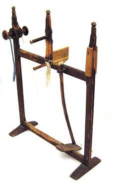 """My """"inkle"""" loom for bandweaving."""