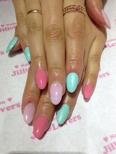 Easter nails,  Go To www.likegossip.com to get more Gossip News!