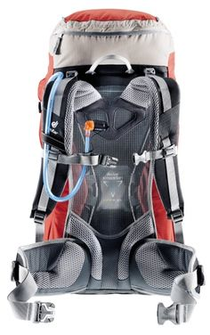 Deuter Futura 42 Fantastic travel pack with maximum airflow around the back! Belize was a breeze with this pack.